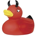 red devil duckie
